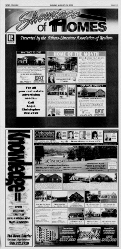 Athens News Courier, August 23, 2009, Page 74