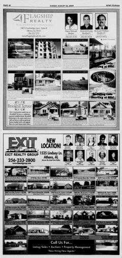 Athens News Courier, August 23, 2009, Page 80