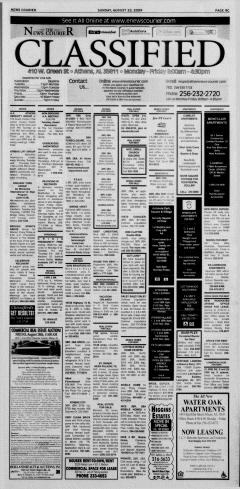Athens News Courier, August 23, 2009, Page 90