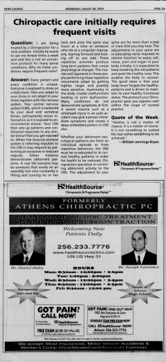 Athens News Courier, August 26, 2009, Page 21