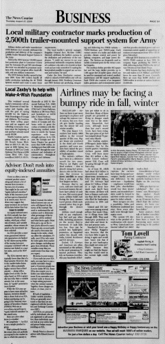 Athens News Courier, August 27, 2009, p. 9