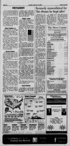 Athens News Courier, August 30, 2009, p. 3