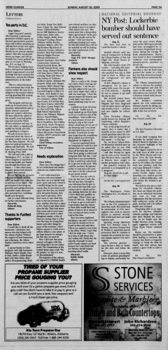 Athens News Courier, August 30, 2009, p. 9