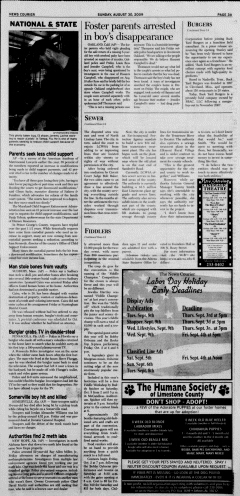 Athens News Courier, August 30, 2009, p. 6