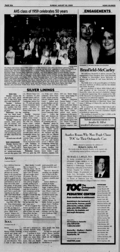 Athens News Courier, August 30, 2009, p. 20