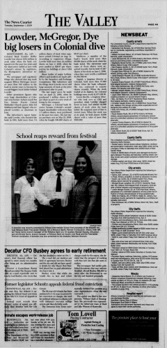 Athens News Courier, September 01, 2009, Page 16