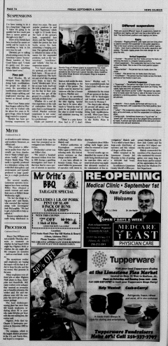 Athens News Courier, September 04, 2009, Page 13