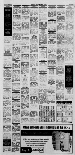 Athens News Courier, September 04, 2009, Page 37