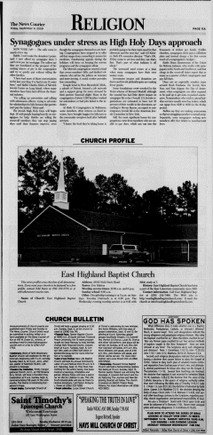 Athens News Courier, September 04, 2009, Page 22