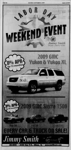 Athens News Courier, September 05, 2009, Page 15