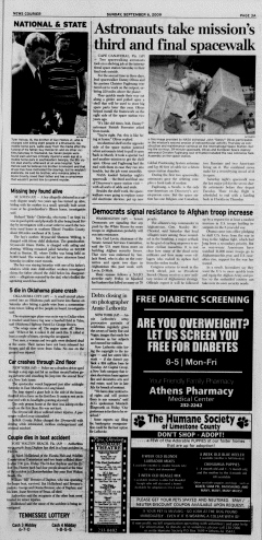 Athens News Courier, September 06, 2009, Page 5