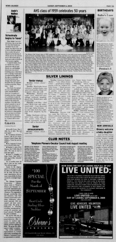 Athens News Courier, September 06, 2009, Page 21