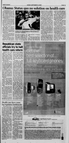 Athens News Courier, September 13, 2009, Page 13