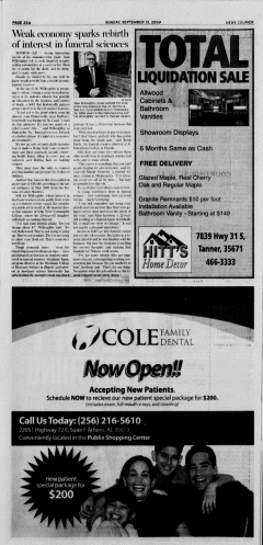 Athens News Courier, September 13, 2009, Page 43