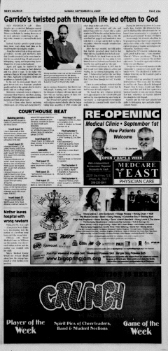 Athens News Courier, September 13, 2009, Page 45