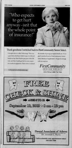 Athens News Courier, September 13, 2009, Page 49