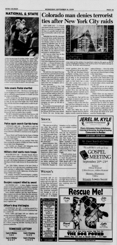 Athens News Courier, September 16, 2009, Page 3