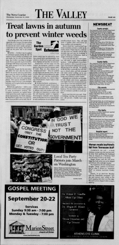 Athens News Courier, September 16, 2009, Page 4