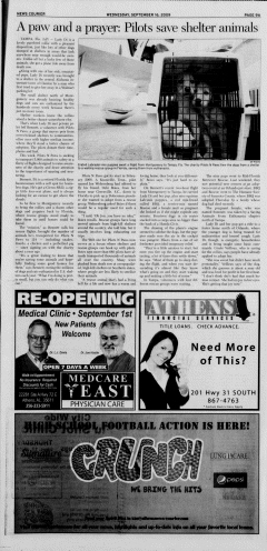 Athens News Courier, September 16, 2009, Page 9