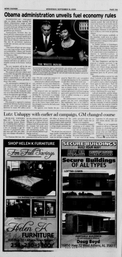 Athens News Courier, September 16, 2009, Page 13