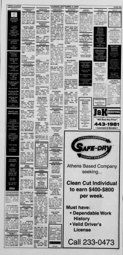 Athens News Courier, September 17, 2009, Page 29