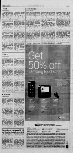 Athens News Courier, September 20, 2009, Page 13