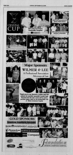 Athens News Courier, September 20, 2009, Page 47