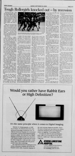 Athens News Courier, September 20, 2009, Page 53