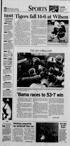 Athens News Courier, September 20, 2009, Page 65
