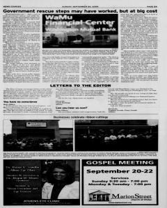 Athens News Courier, September 20, 2009, Page 10