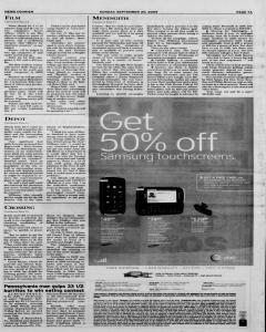 Athens News Courier, September 20, 2009, Page 14