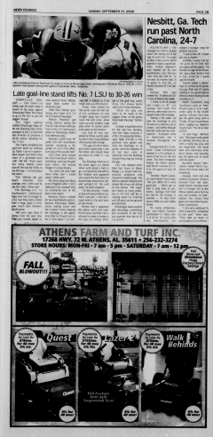 Athens News Courier, September 27, 2009, Page 65