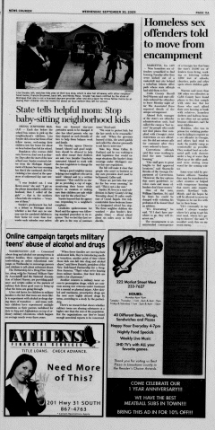 Athens News Courier, September 30, 2009, Page 21