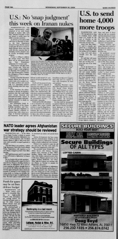 Athens News Courier, September 30, 2009, Page 31