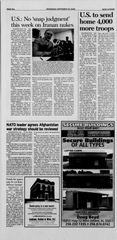 Athens News Courier, September 30, 2009, Page 32