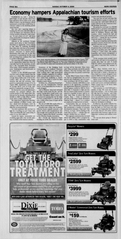 Athens News Courier, October 04, 2009, Page 36
