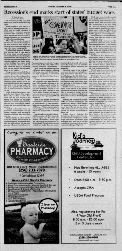 Athens News Courier, October 04, 2009, Page 42