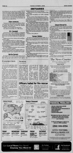 Athens News Courier, October 06, 2009, Page 3