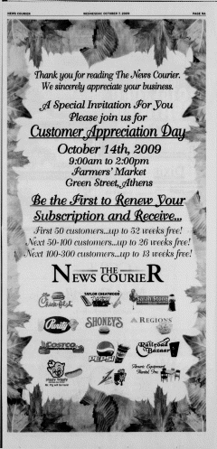 Athens News Courier, October 07, 2009, p. 18