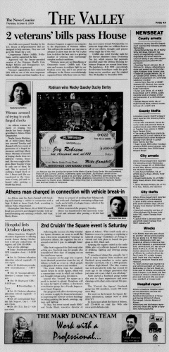 Athens News Courier, October 08, 2009, Page 7