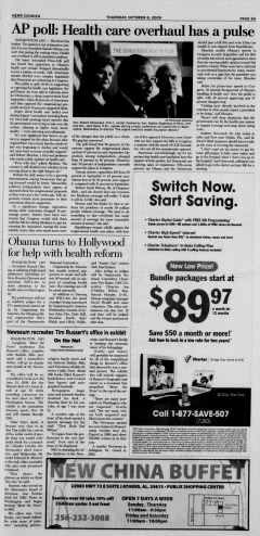 Athens News Courier, October 08, 2009, Page 17