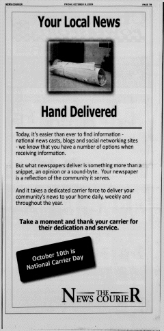 Athens News Courier, October 09, 2009, Page 34