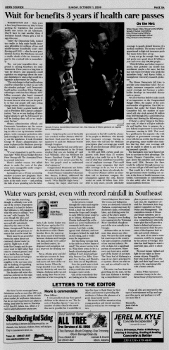 Athens News Courier, October 11, 2009, Page 9