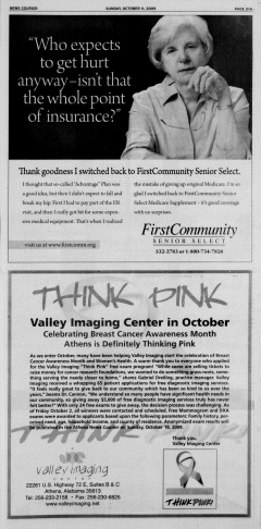 Athens News Courier, October 11, 2009, Page 41