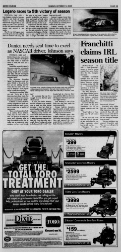 Athens News Courier, October 11, 2009, Page 49