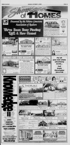 Athens News Courier, October 11, 2009, Page 53