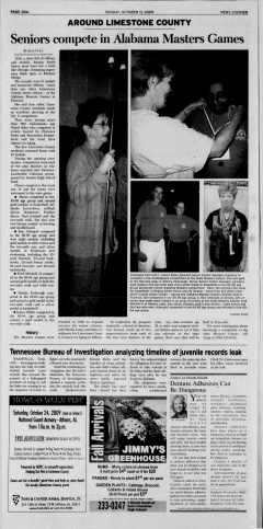 Athens News Courier, October 11, 2009, Page 40