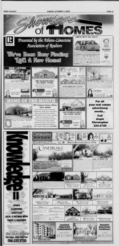 Athens News Courier, October 11, 2009, Page 54
