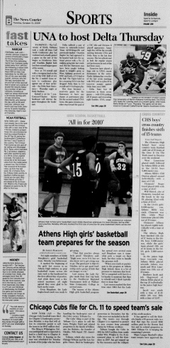 Athens News Courier, October 13, 2009, Page 17