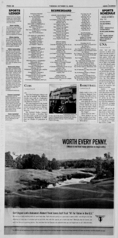 Athens News Courier, October 13, 2009, Page 19